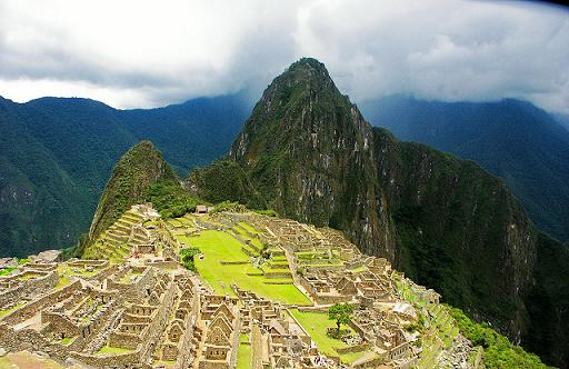 What machu picchu looked like